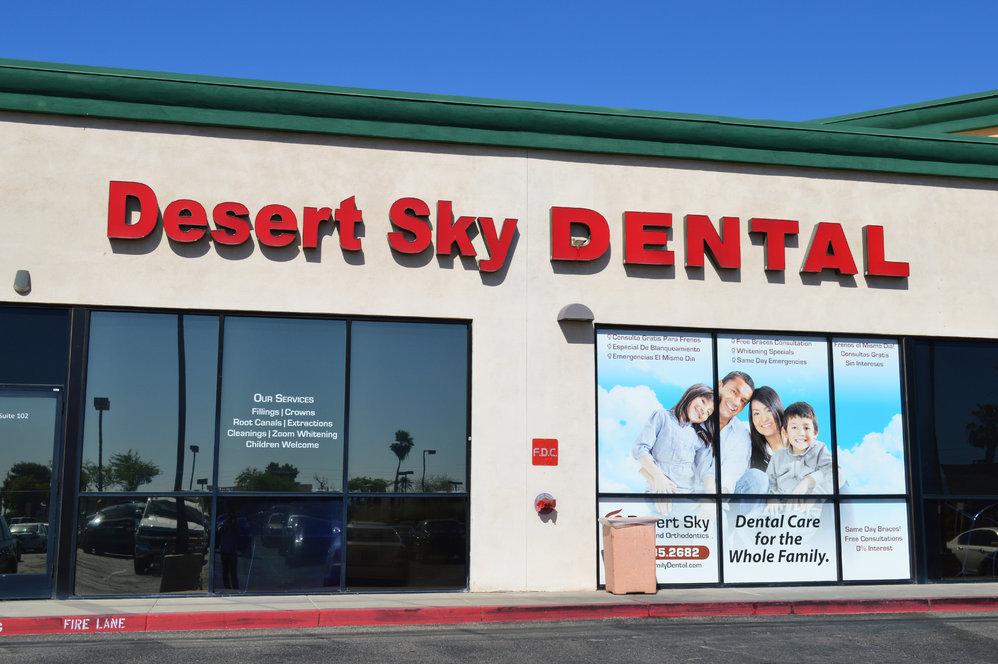 Desert Sky Family Dental cover