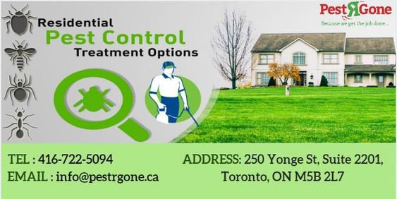 Pest R Gone - Pest Control Toronto cover