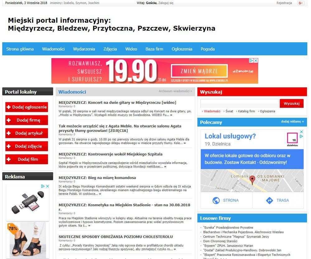 Międzyrzecz - Informator Lokalny cover