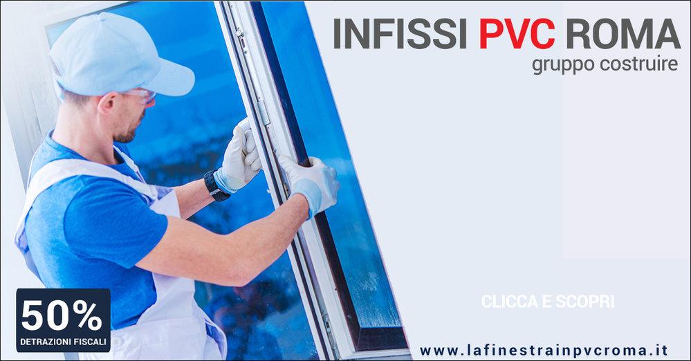 Finestre PVC Roma|Gruppo Costruire cover