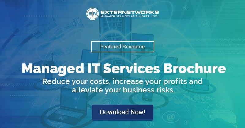 ExterNetworks for Managed IT Services cover