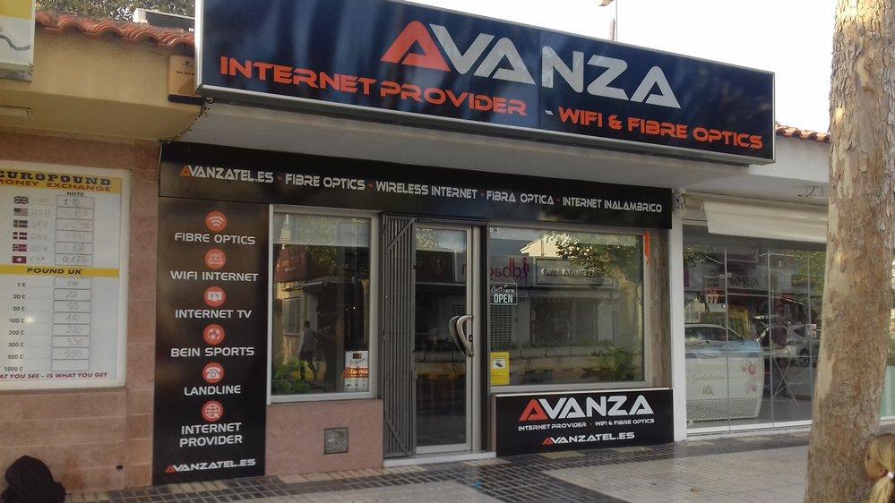 AVANZA INTERNET cover