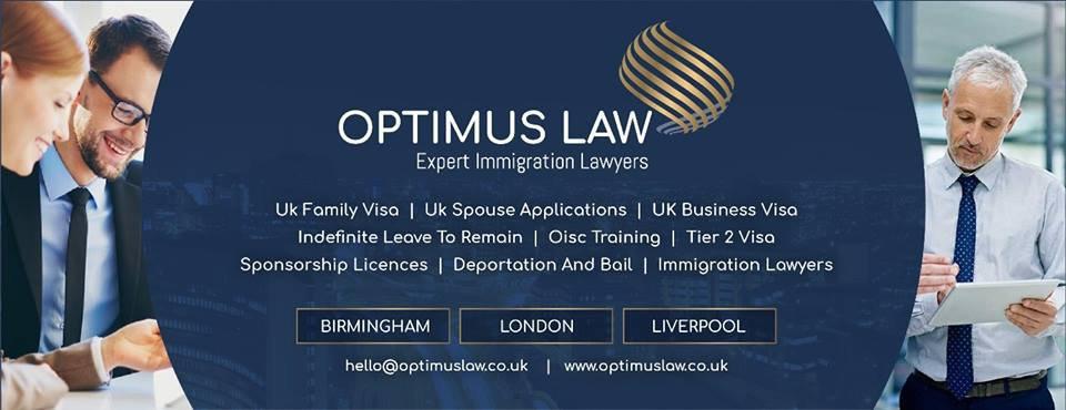 Optimus Law cover