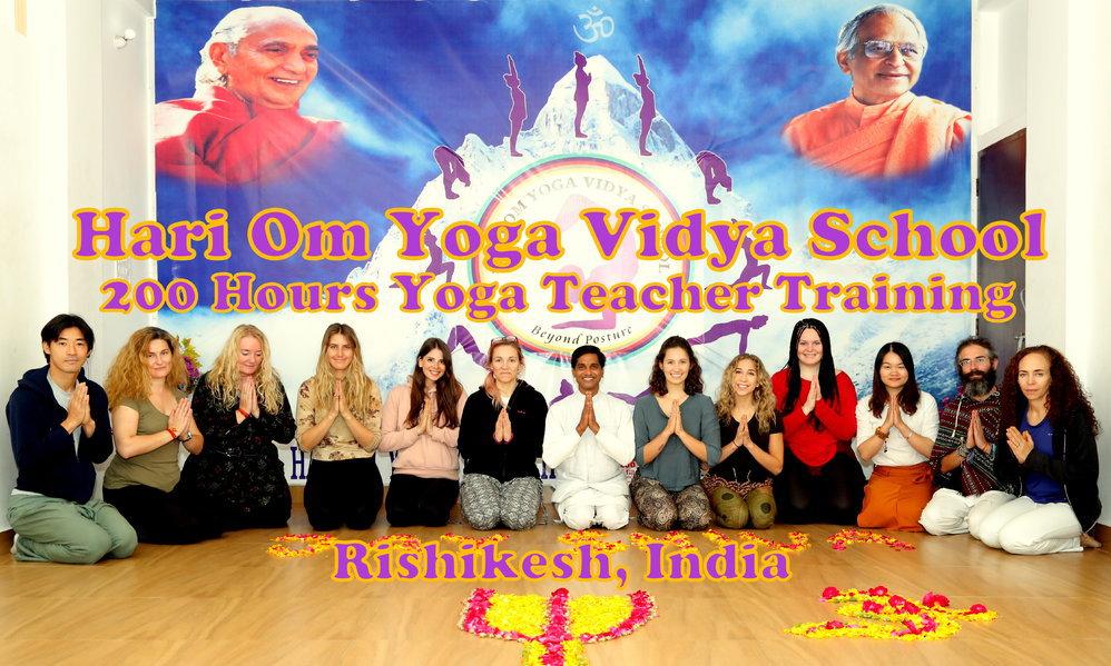 Hari Om Yoga Vidya School cover