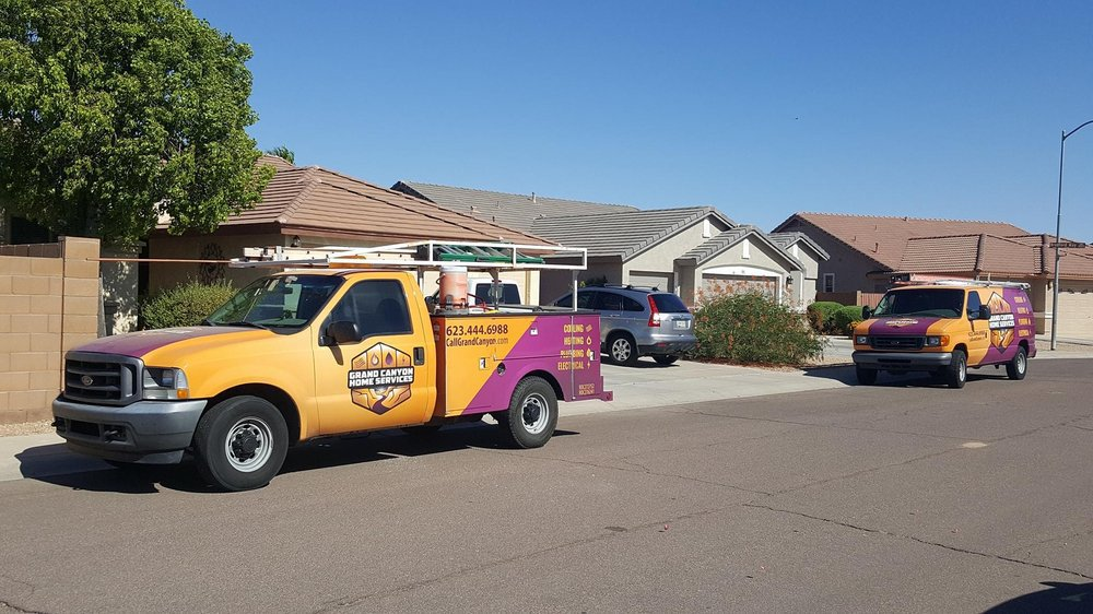 Grand Canyon Heating & Cooling Peoria AZ cover
