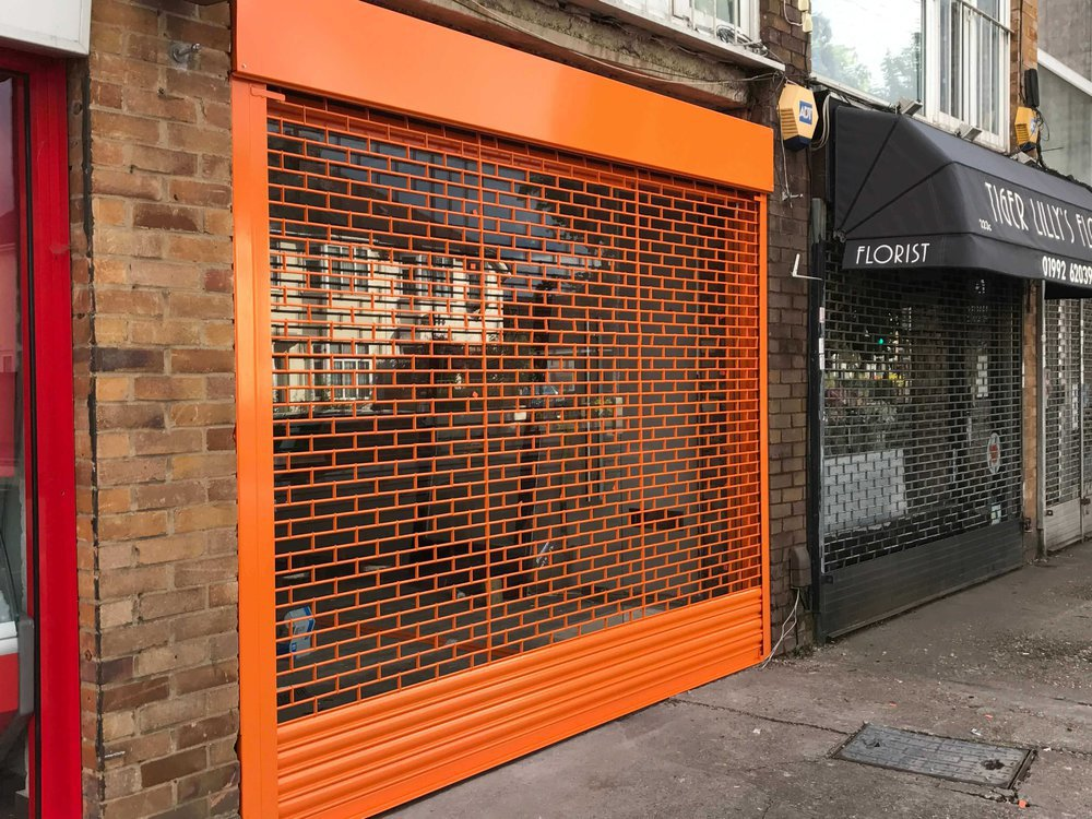 Roller Shutter & Glass Replace cover