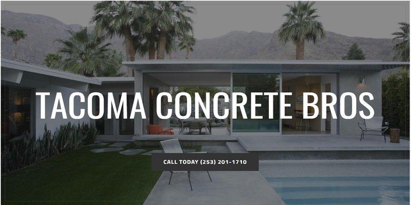 Tacoma Concrete Bros cover