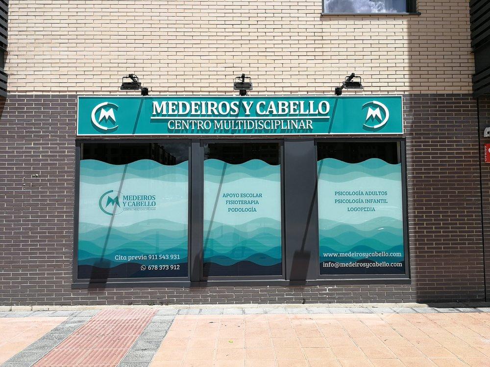 Centro Multidisciplinar Medeiros y Cabello Getafe cover