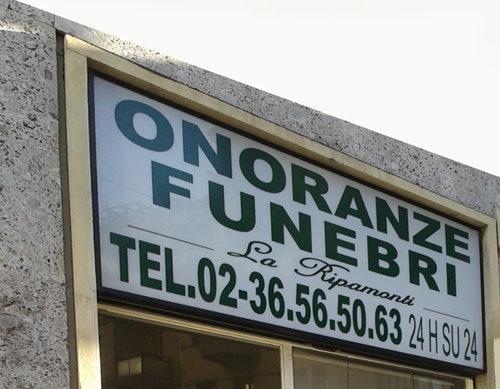 Onoranze Funebri La Ripamonti cover