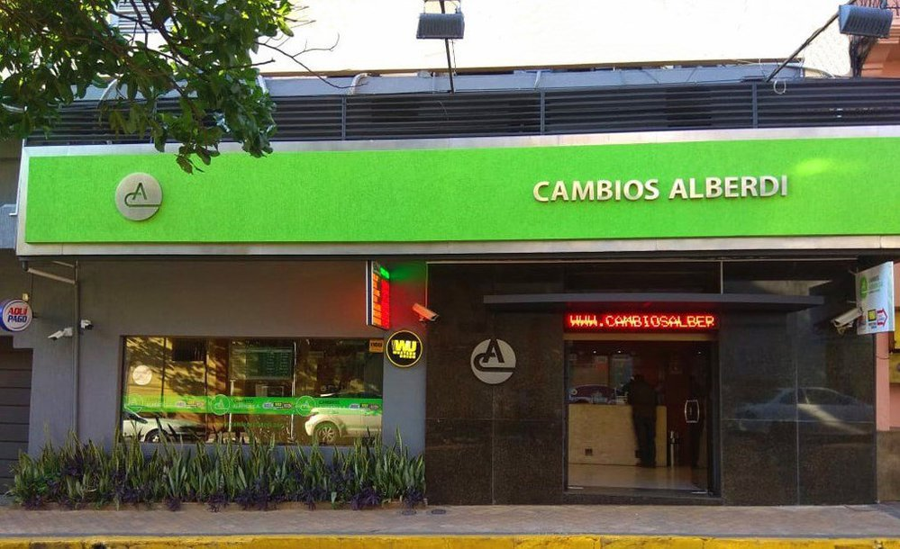 Cambios Alberdi cover