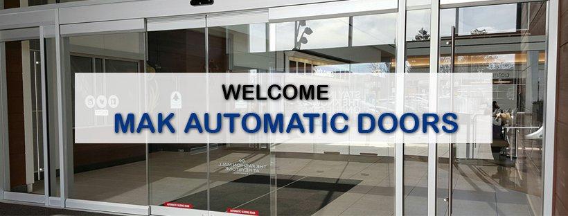 MAK Automatic Doors  cover