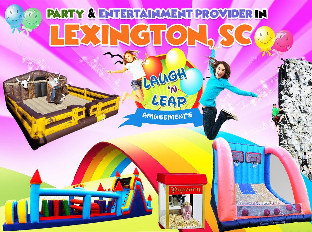 Laugh n Leap - Lexington Bounce House Rentals & Water Slides cover