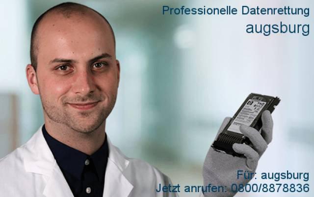 DATARECOVERY® - Datenrettung  Augsburg: Festplatte reparieren cover
