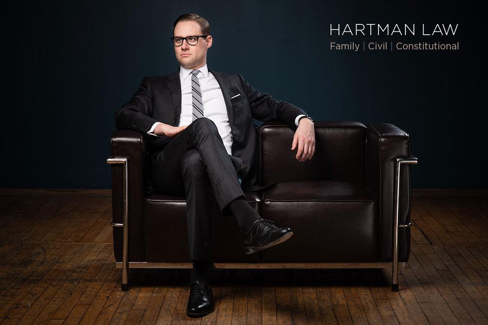 Hartman Law cover