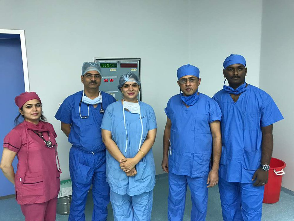 Dr. Neeraj Suri - Best Cochlear Implant Surgeon, Doctor, Hospital in India,  cover