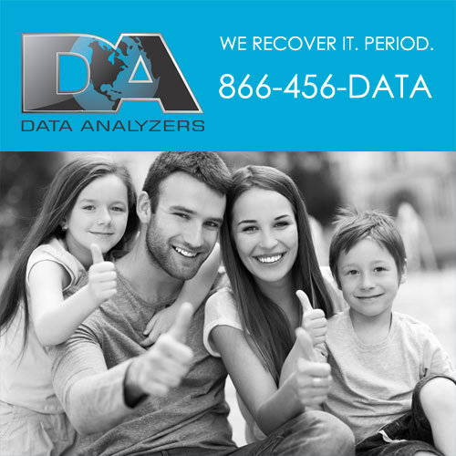 Data Analyzers Data Recovery Services cover