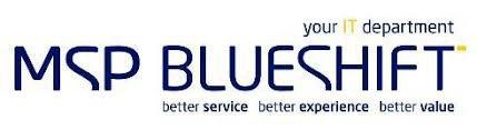 MSP Blueshift Pty Ltd cover