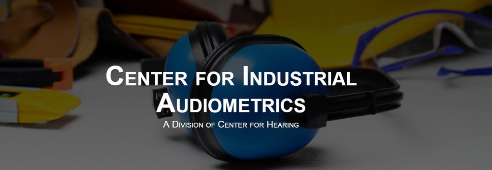 Center for Industrial Audiometrics cover