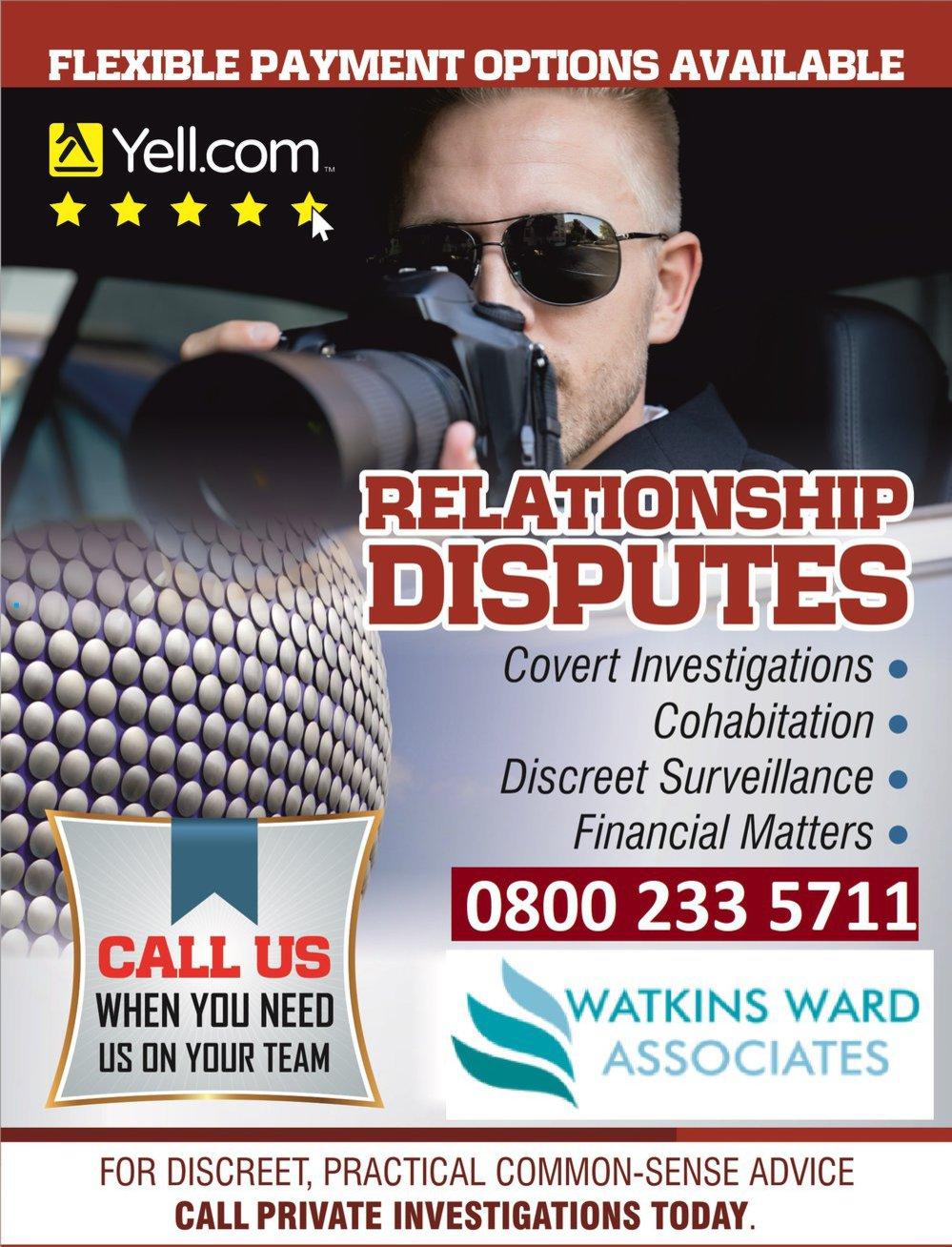 Cheap Private Investigator - Watkins Ward Detectives cover