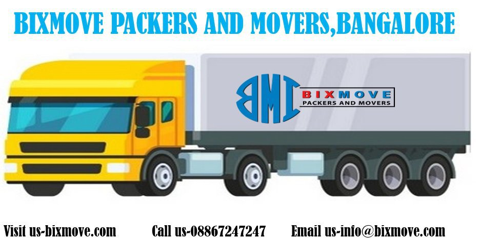 BIXMOVE PACKERS AND MOVERS cover