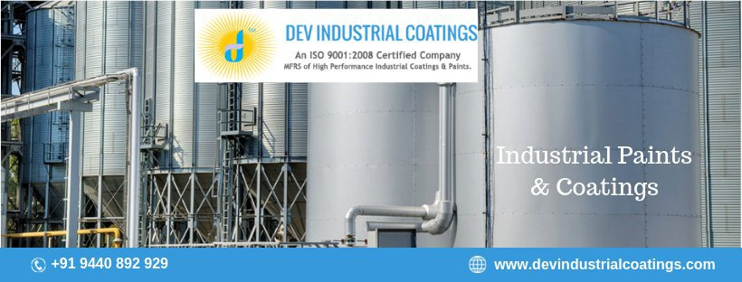 Dev Industrial Coatings cover