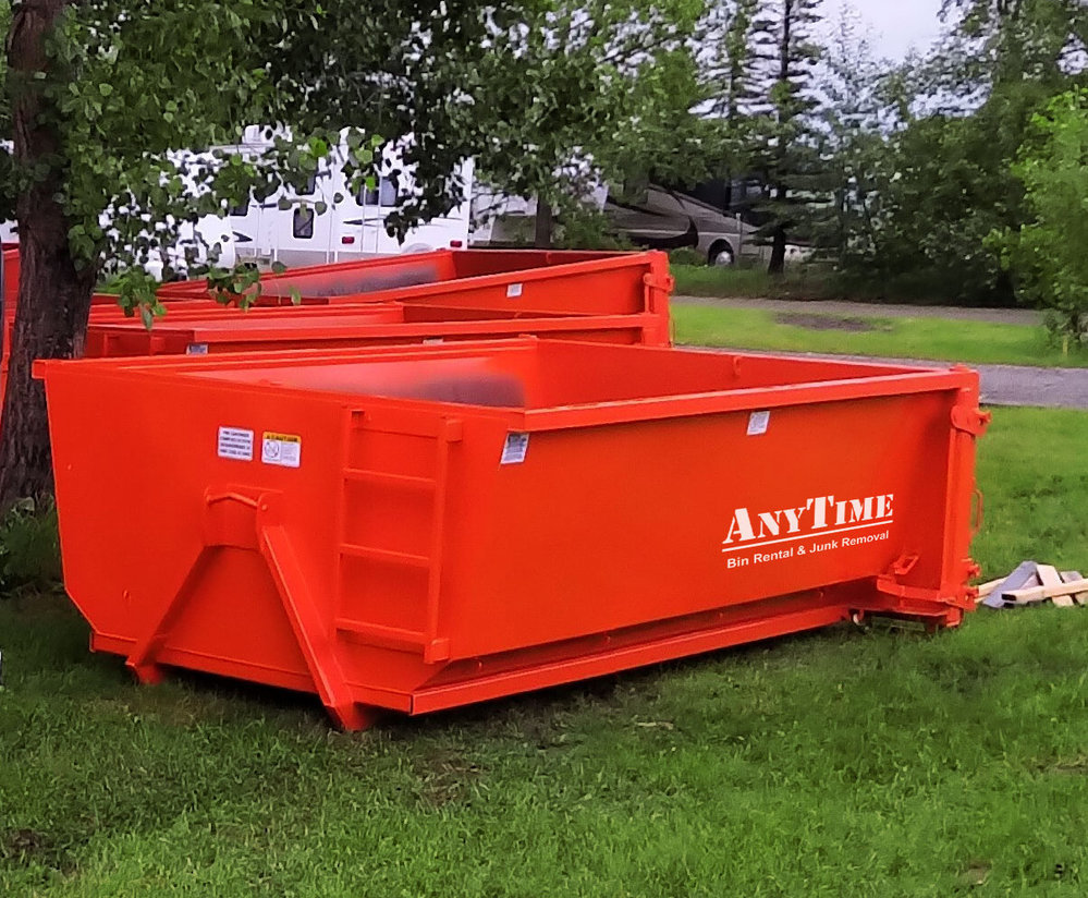 AnyTime Bin Rental and Junk Removal cover