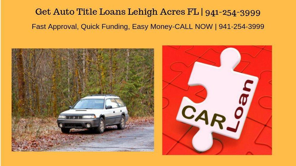 Get Auto Title Loans Lehigh Acres FL cover