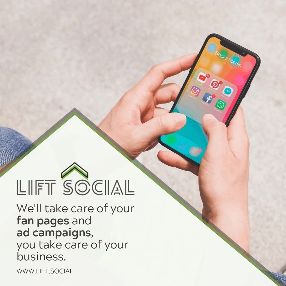 Lift Social Media Marketing cover