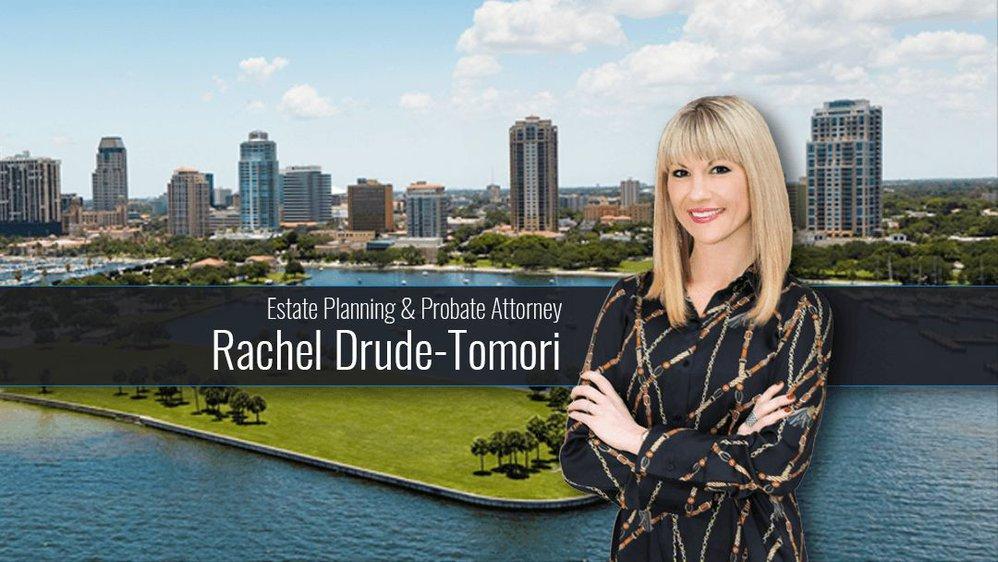 Estate Planning & Probate Attorney Rachel Drude-Tomori cover