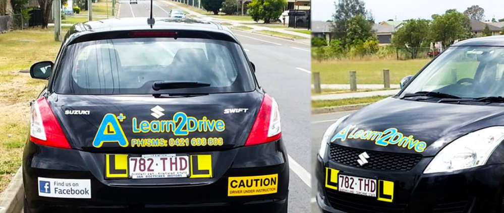 Aplus Learn 2 Driving School Ipswich cover