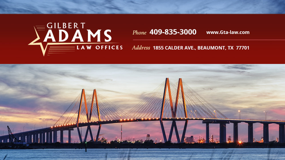 Gilbert Adams Law Offices cover