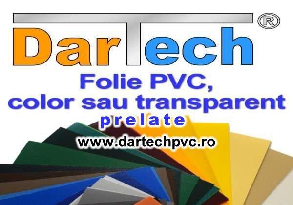 Dartech: Prelata PVC perdea si folie transparent sau color cover