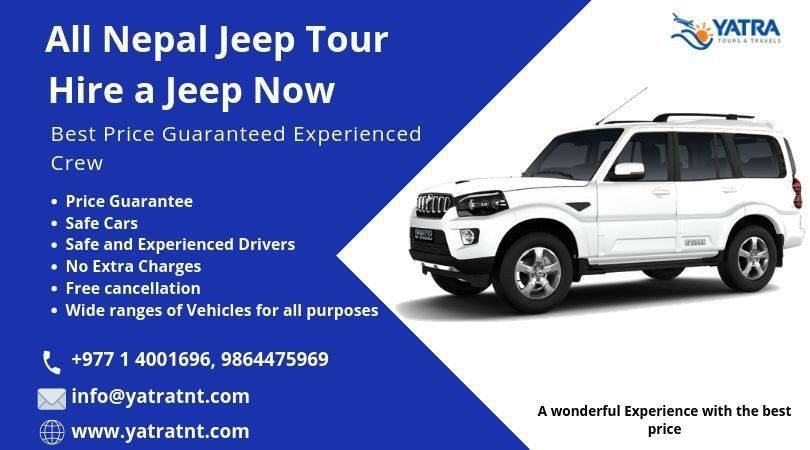 Scorpio Jeep Hire in Nepal cover