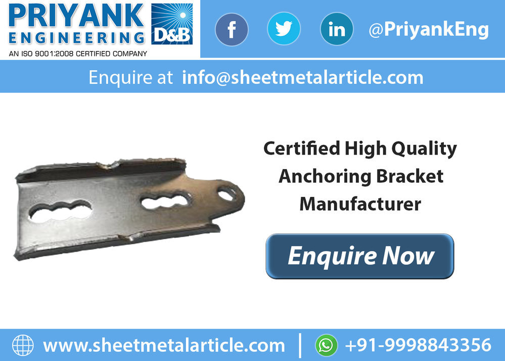 Anchor Bracket Manufacturer in India cover