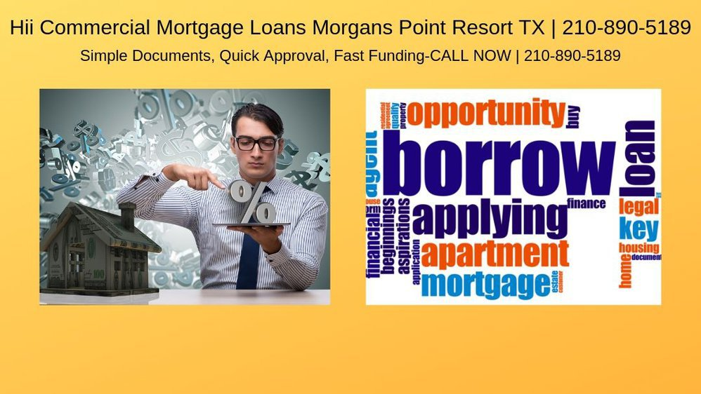 Hii Commercial Mortgage Loans Morgans Point Resort TX cover