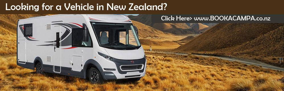 BookaCampa Motorhome, Campervan & RV Hire NZ cover