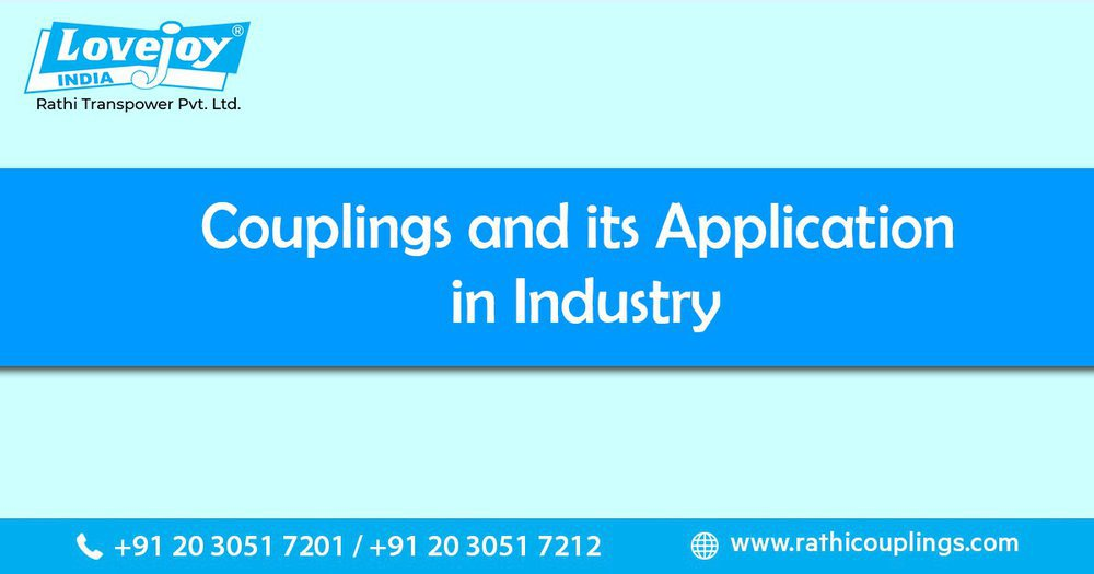 Couplings and its Applications in Industry cover