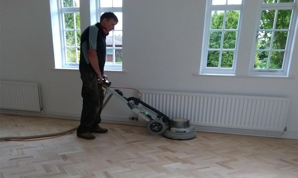 Ormrod Floor Sanding cover
