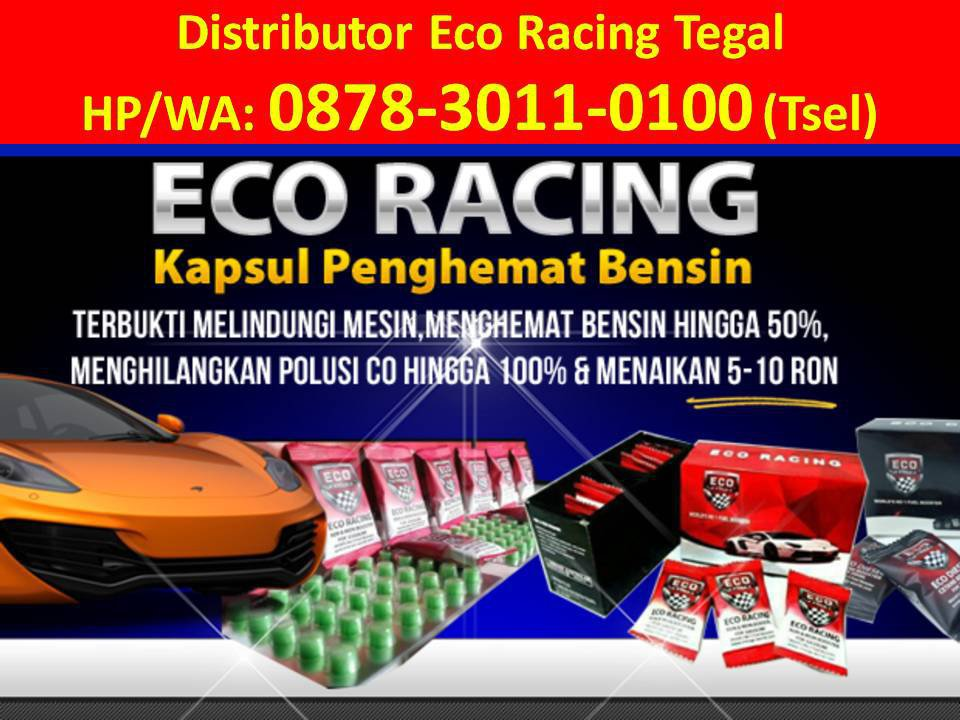 Agen Eco Racing Tegal cover