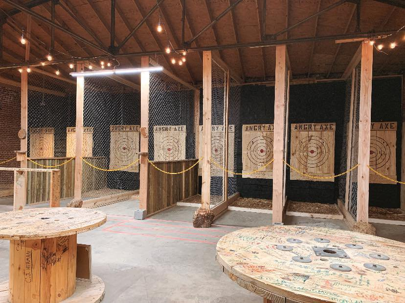 Angry Axe Throwing cover