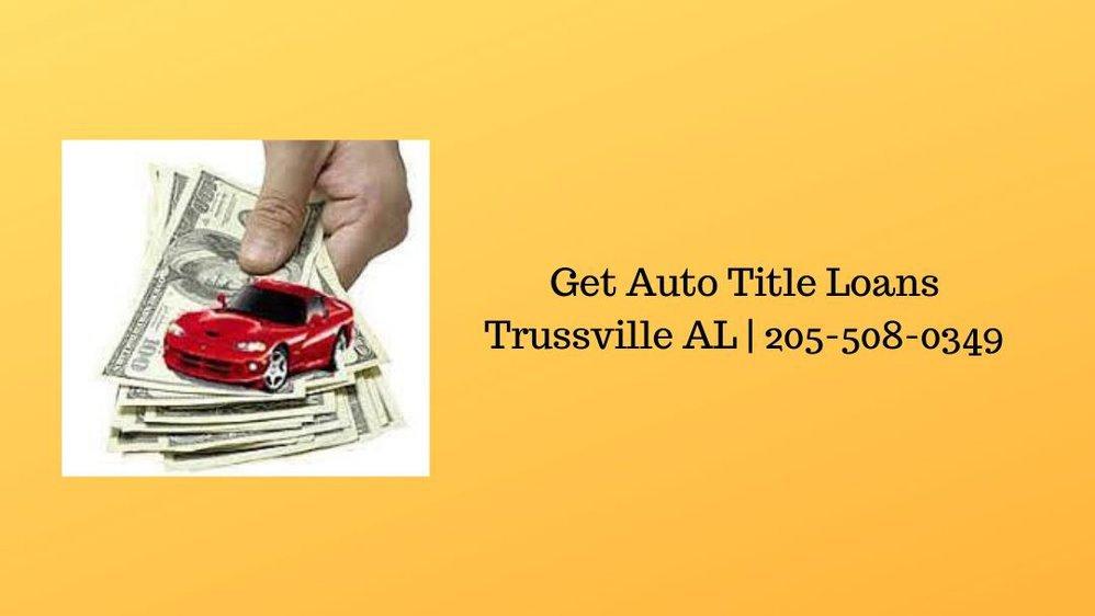 Get Auto Title Loans Trussville AL cover