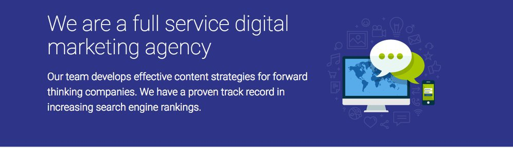 Blue Vision Digital Marketing cover