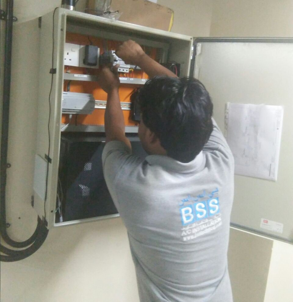 BSS A/C Installation cover