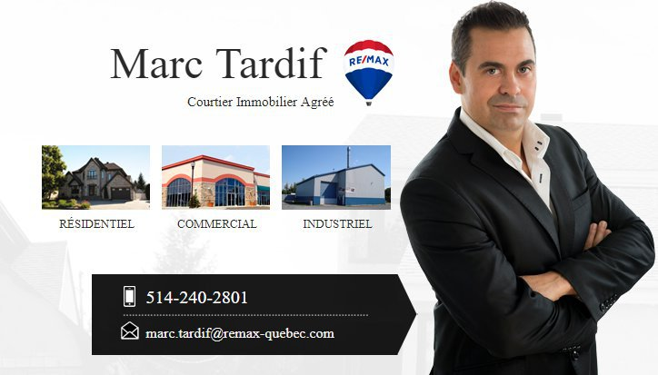 Marc Tardif - Courtier Immobilier Agréé - RE/MAX D'ICI cover