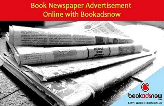 Bookadsnow - Newspaper Advertising Agency cover
