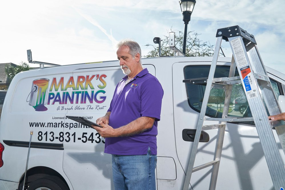 Mark's Painting cover