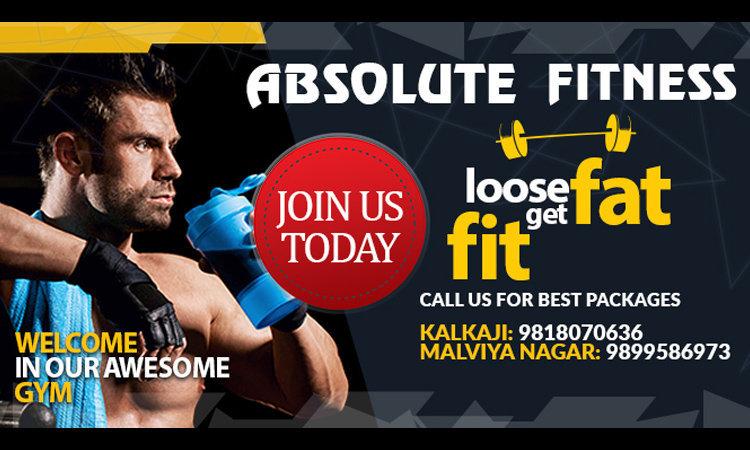 Absolute Fitness Kalkaji cover