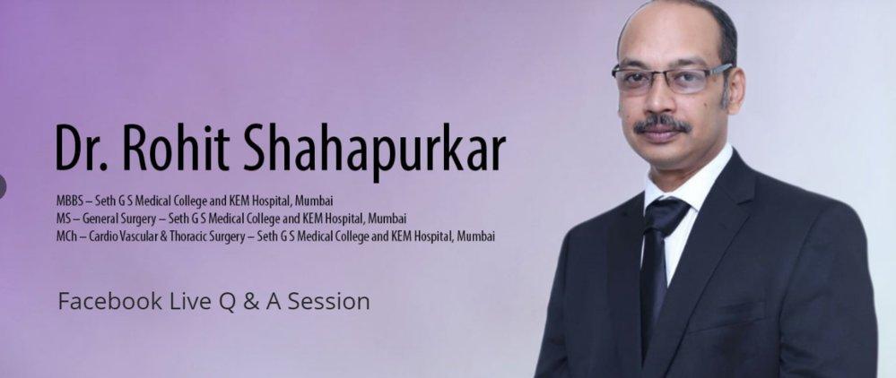 Dr. Rohit Shahapurkar cover
