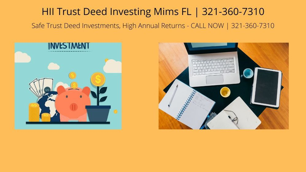 HII Trust Deed Investing Mims FL cover