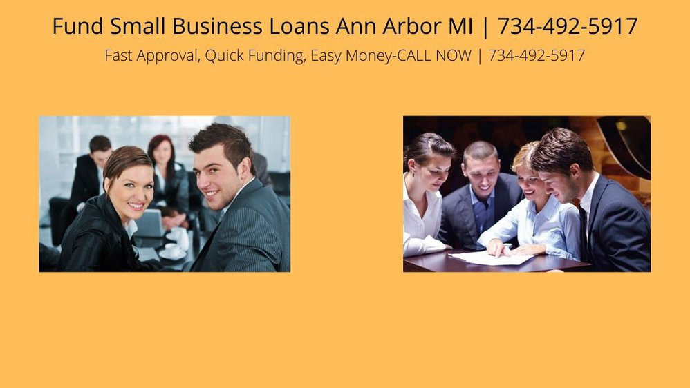 Fund Small Business Loans Ann Arbor MI cover